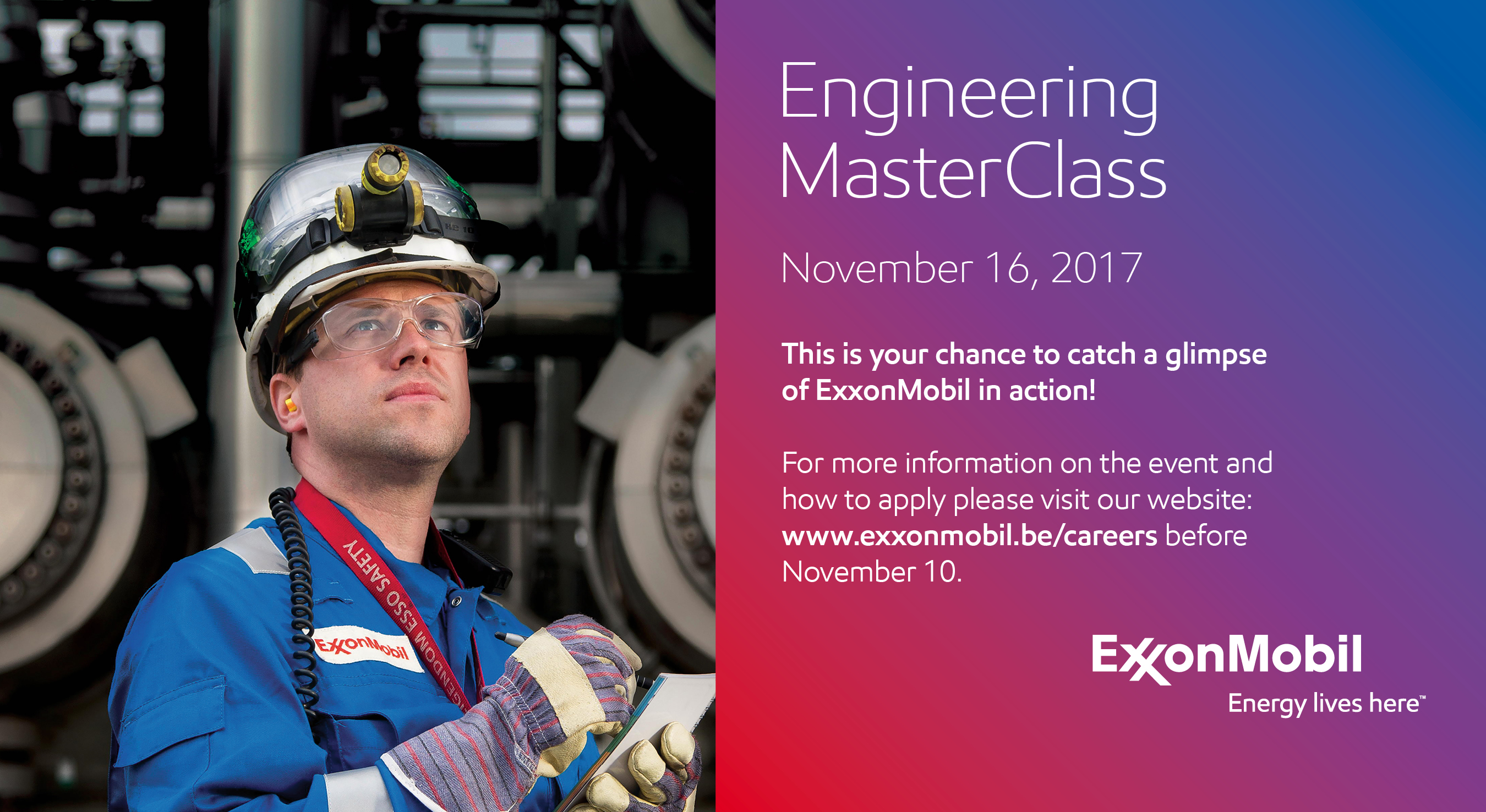 ExxonMobil - Engineering Masterclass